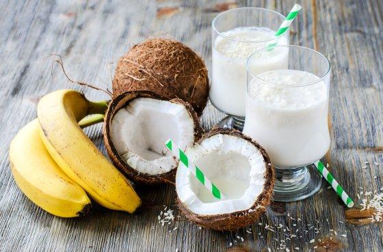 Kokos-Bananen Smoothie