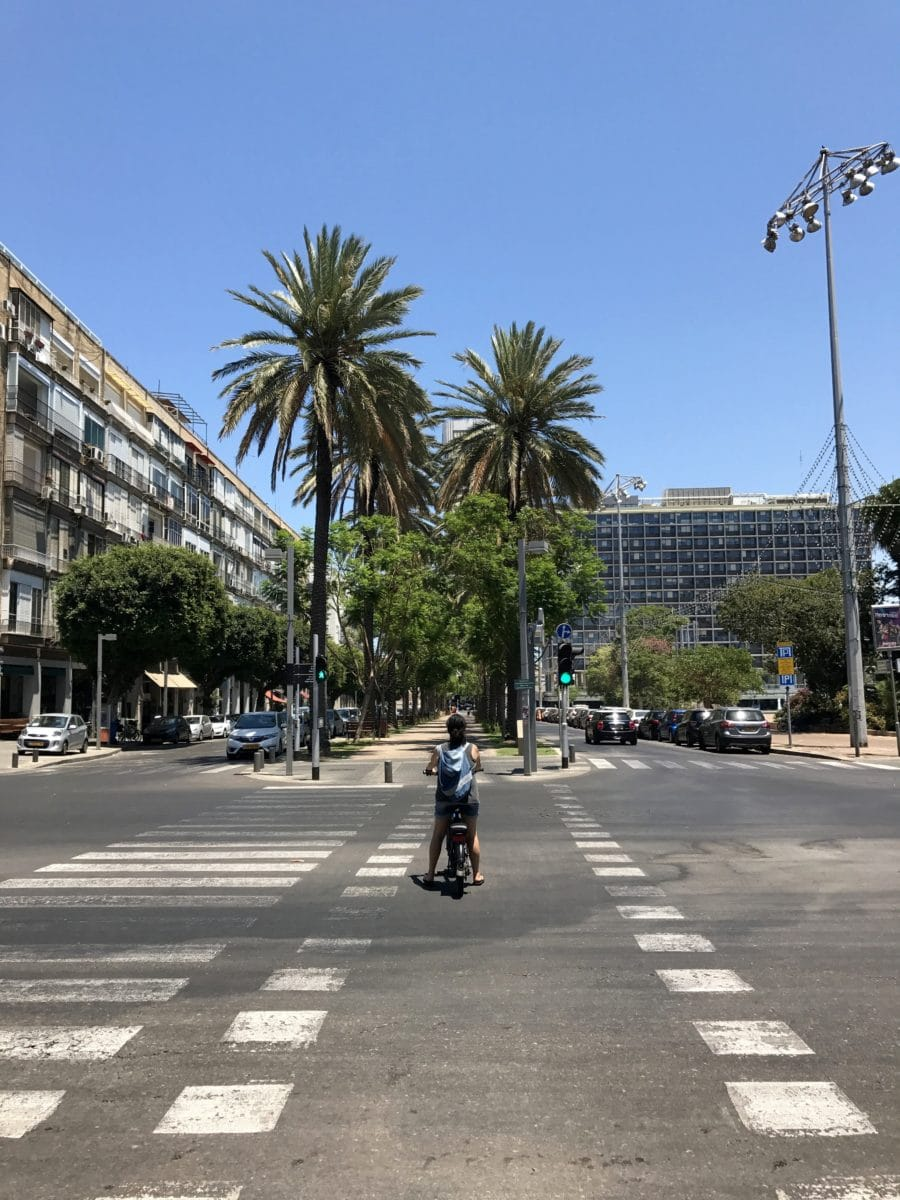 E Bike fahren in Tel Aviv